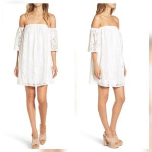 Leith Lace Off the Shoulder Dress